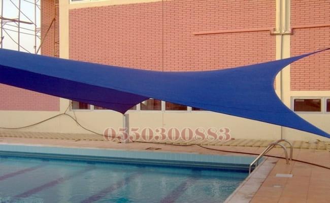 مظلات المسابح تغطية المسابح تغطية المسابح بالزجاج حماية المسابح الاطفال